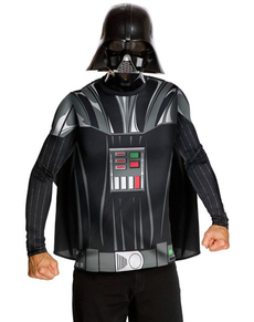 Kit fato Darth Vader para adulto
