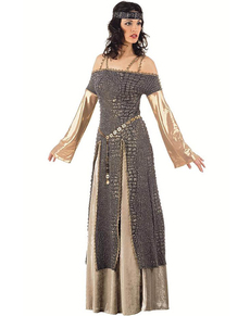 Fato Lady Guinevere medieval
