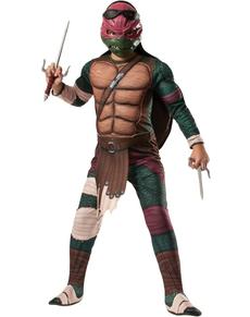 Fato de Raphael musculoso Tartarugas Ninja Filme para menino