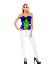 Corpete do Joker sexy para mulher