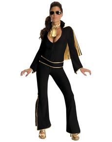 Fato de Elvis sexy para mulher